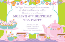 Tea and Sweets Invitation