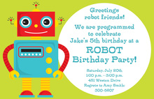 Programmed to Celebrate Invitation