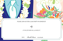 Tropical Couple Invitations