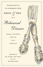 Rehearsal Dinner Party Ware Invitations