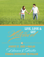Blue Star Save The Date Photo Cards