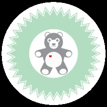 Green Baby Elements Stickers