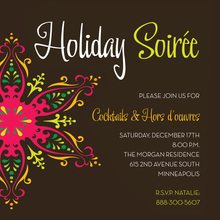 Soiree Snowflake Invitation