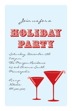 Script Holiday Party Invitation