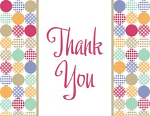 Special Polka Dots Thank You Cards