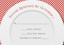 Picnic Table RSVP Cards