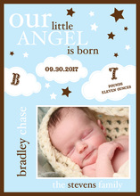 Our Little Angel Photo Announcements