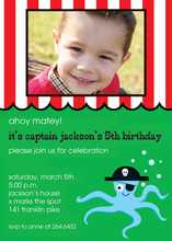 Ahoy Matey Party Invitations