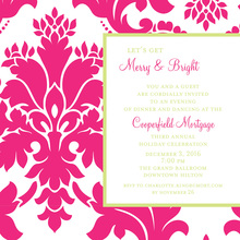 Feminine Holiday Invitation