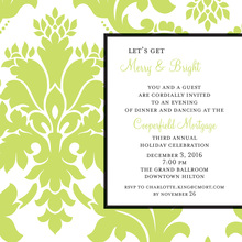Natural Flourish Invitation