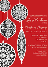 Beautiful Ornaments Invitation