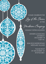Ornamental Patterns Invitation