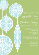 Special Ornaments Invitations