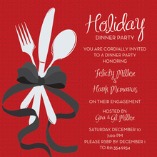 Special Holiday Dinner Invitation