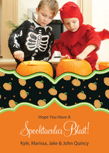Spectacular Pumpkin Halloween Photo Cards