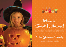 Treats Everywhere Sweet Halloween Photo Cards