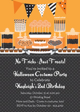 Sweet Treats Candy Invitation