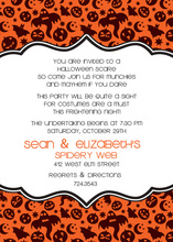 Creepy Halloween Everywhere Invitation