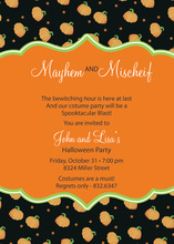 Extra Pumpkins Invitation