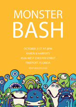 Little Creature Monster Invitation