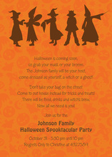 Classic Silhouttes Witches Invitation