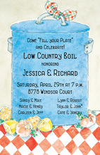 Perfect Low Country Boil Invitations