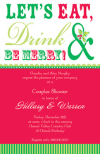 Eat, Drink, Be Merry! Holiday Invitation