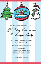 Ornament to Be! Holiday Invitation
