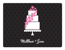 Sweet Cake Tickled Pink Thank You Cards