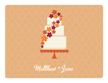 Sweet Cake Milano Thank You Cards