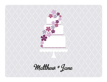 Sweet Cake Lavender Thank You Cards