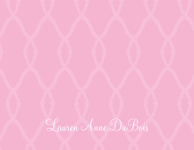 Bridal Gate Pink Thank You Cards