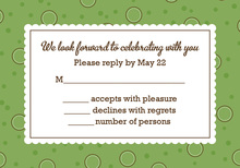 BBQ Shower Couple Shower Olive RSVP Cards