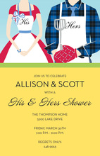Grill Partner Invitations