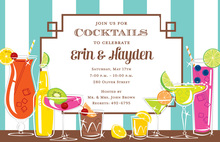 Refreshing Drinks Galore Invitations