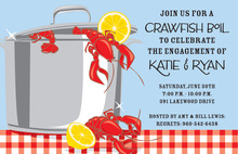 Crawfish Gleam Invitations