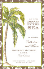 Natural Tropics Palm Invitations
