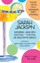 Baha Colorful Margarita Invitations