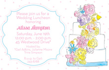 Sweet Layers Cake Invitations