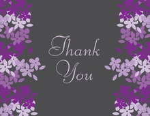 Lavender Blooms Thank You Cards
