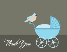 Blue Jay Thank You Cards