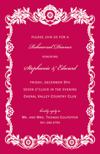 Luxury Royal Frame Formal Invitations