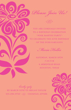 Modern So Sultry Digital Style Invitations