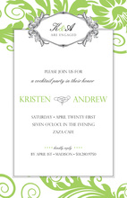 Kensington Garden Stylish Invitations