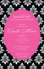 Elegant Boudoir Invitations