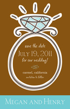 You Rock The Diamond Invitations