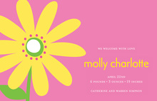 Yellow Daisy Digital Invitations