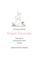 Cute So Hoppy Bunny Invitations