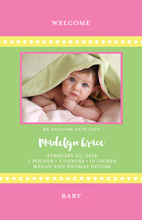 She Is So Bright Photo Birth Announcements