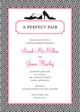 Stylish In Pair Invitations
